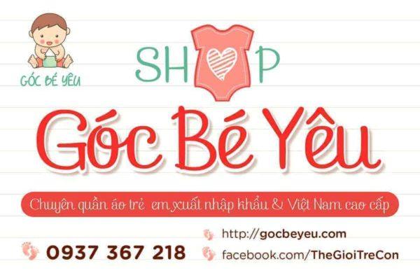 Cửa hàng quần áo trẻ em uy tín TPHCM