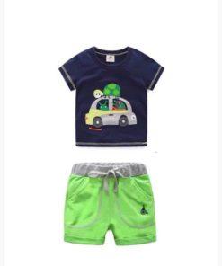 Bộ quần áo bé trai thun LydoBB