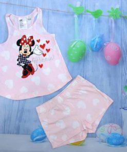 Bộ quần áo bé gái thun đùi xuất khẩu H&M
