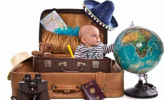 Kinh nghiệm chuẩn bị hành trang cho bé đi du lịch