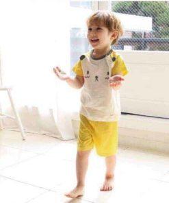 Bộ quần áo xuất Hàn cho bé trai TheMinou