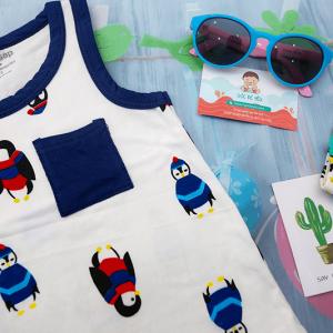 Bộ quần áo mùa hè cho bé trai