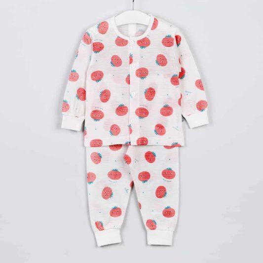 Quần áo bé trai họa tiết hoa quả