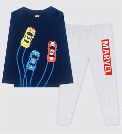 Quần áo bé trai họa tiết ô tô