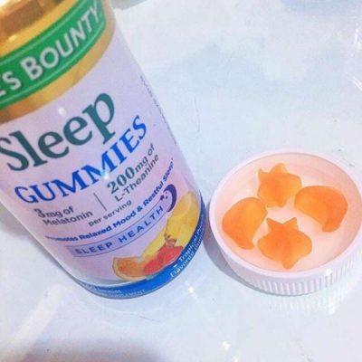 Sleep Gummies Nature's Bounty kẹo chống mất ngủ từ Mỹ