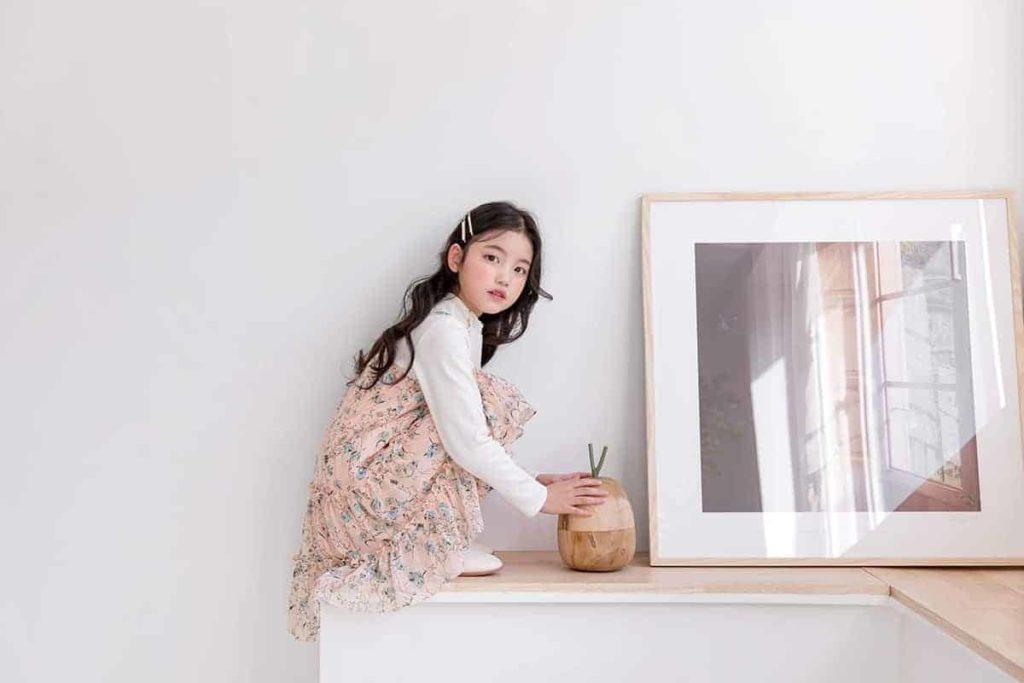 Đầm suông mẫu quần áo thời trang trẻ em Hàn Quốc không thể thiếu