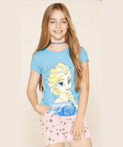 Bộ quần áo bé gái Disney nữ hoàng Elsa