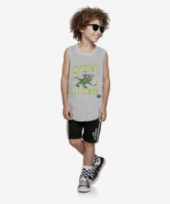 Bộ quần áo bé trai Oshkosh họa tiết khủng long