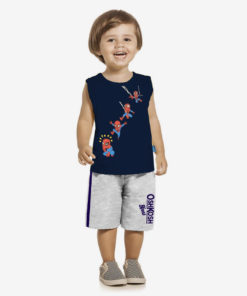 Bộ quần áo bé trai Oshkosh họa tiết người nhện