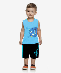 Bộ quần áo bé trai Oshkosh họa tiết ngộ nghĩnh