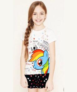 Bộ quần áo bé gái Disney ngựa Pony ngộ nghĩnh