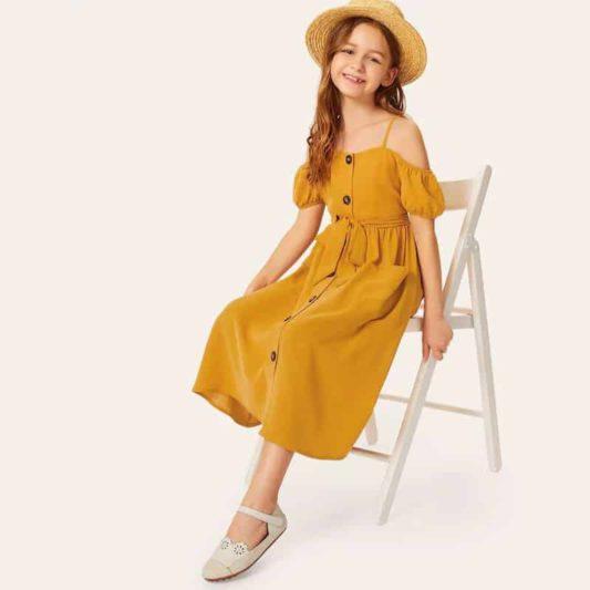 Đầm Zara bé gái xuất khẩu cao cấp