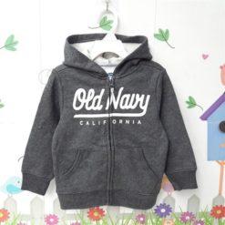 Áo khoát bé trai xuất khẩu Old Navy (xám lông chuột)