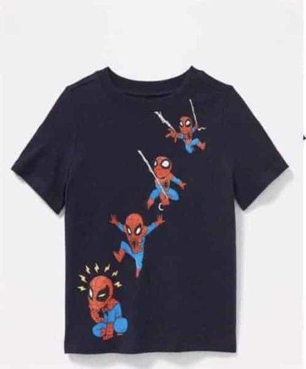 Áo thun người nhện spider man cho bé