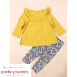 Bộ quần áo bé gái đẹp 1 đến 4 tuổi