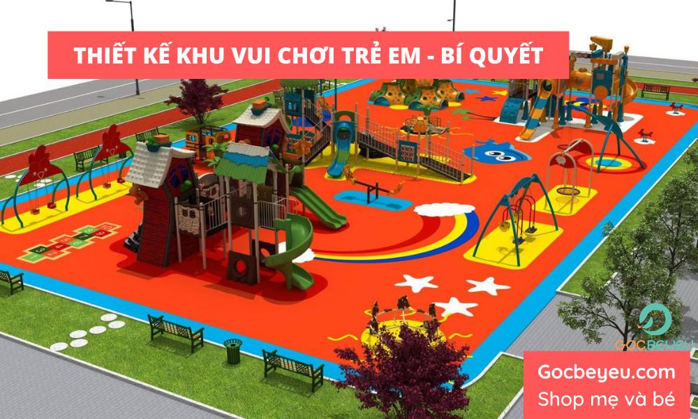 Bí quyết thiết kế khu vui chơi trẻ em để mang lại lợi nhuận lớn