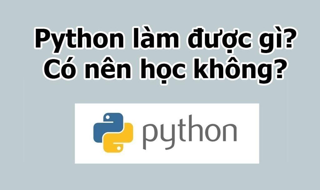 Ngôn ngữ lập trình cho trẻ em – Python