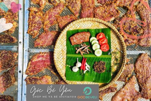 Nai 1 nắng đặc sản Phú Yên tặng muối kiến vàng