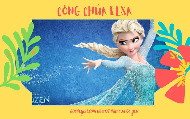 Công chúa Elsa là nữ hoàng băng giá